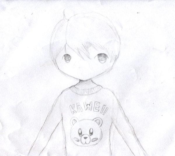 Junge im Pullover - 2014