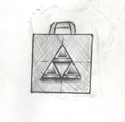 Triforce Tasche Konzept 2 - 2019