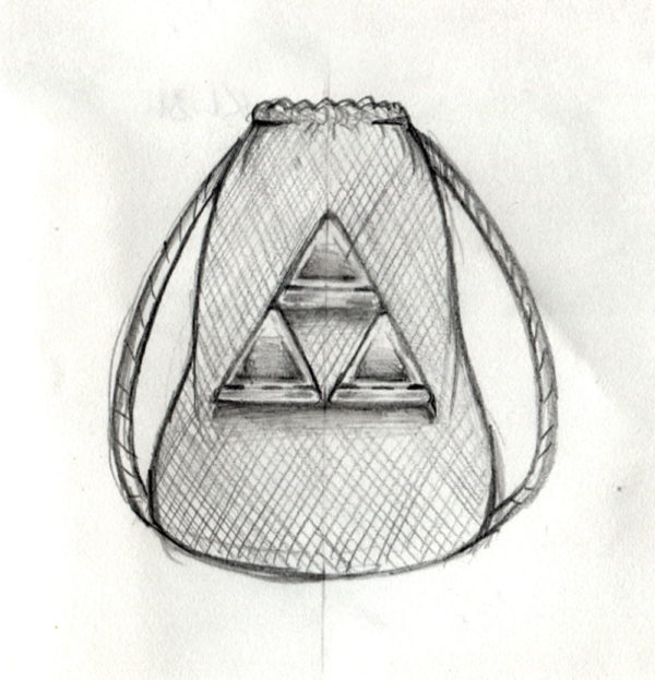 Triforce Tasche Konzept - 2019
