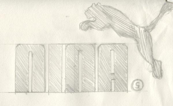 Nina - Logoentwurf für Kunst 2019